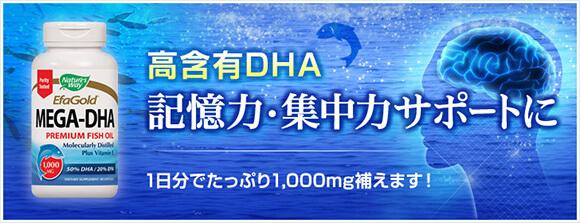 メガDHA 500mg 60ソフトジェル