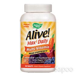 アライブマックス3デイリーマルチビタミン