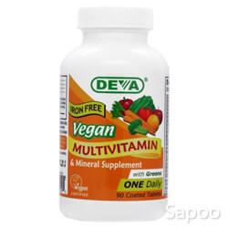 ビーガン マルチビタミン&ミネラル(鉄分抜き)